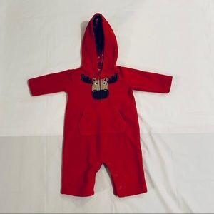 4 For $10.  Carters Baby Fleece Footless  Onesie